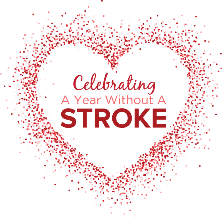 A Year Without A Stroke Logo